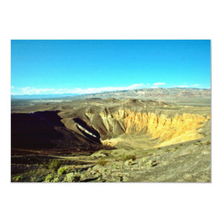 """Ubehebe Crater 5"""" X 7"""" Invitation Card"""
