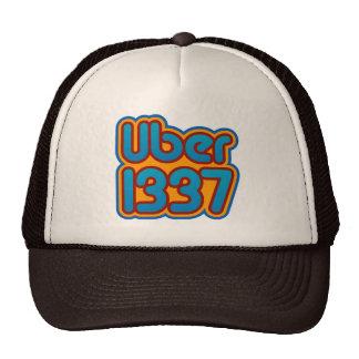 Uber 1337 trucker hat