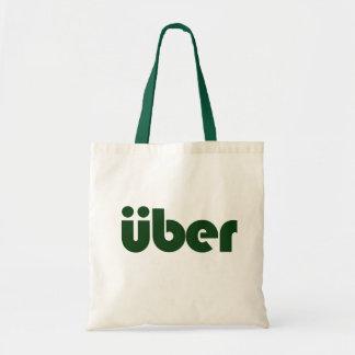 uber budget tote bag