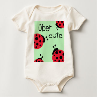 uber cute ladybugs infant baby bodysuit