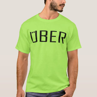 Uber gear tshirts in a variety of colors for drive