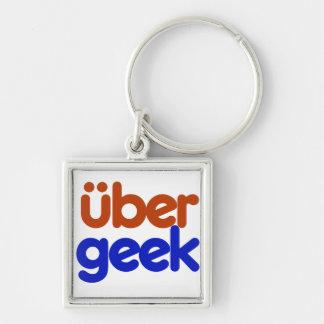Uber Geek Key Chain