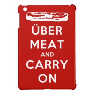 Über Meat And Carry On Cover For The iPad Mini