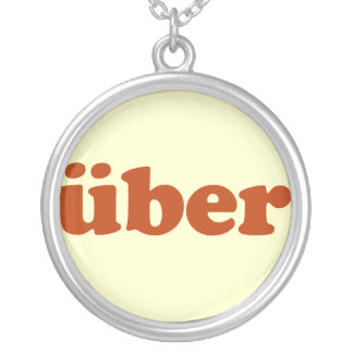 Uber Round Pendant Necklace
