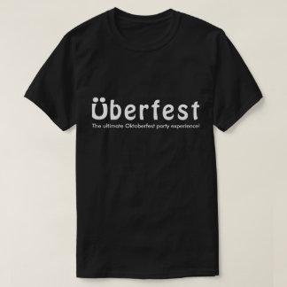 Überfest Men's Black T-Shirt