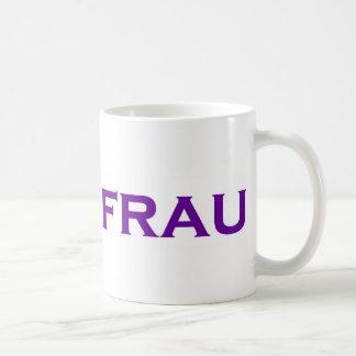 Uberfrau - Superwoman! Classic White Coffee Mug