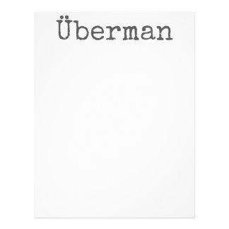 Überman Personalized Letterhead