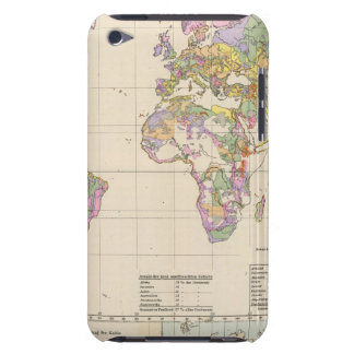 Ubersicht der Erde - Overview of the Earth Map Barely There iPod Cover