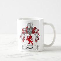 Uberti Family Crest Mug