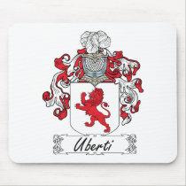 Uberti Family Crest Mousepad