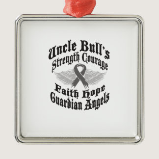 UBGA Brain Cancer Foundation products Metal Ornament