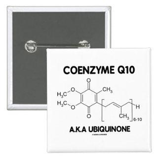 Ubiquinona de la coenzima Q10 A.K.A. (molécula Pin Cuadrada 5 Cm