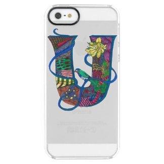 """Ubiquitous U"" Monogrammed iPhone Case"