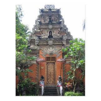 Ubud Village Bali Postcard