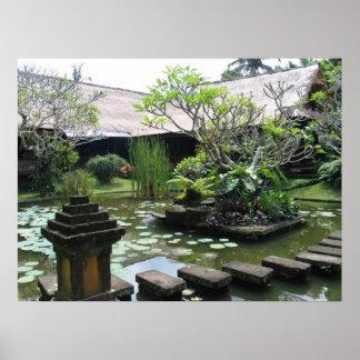 Ubud Village - Bali Poster