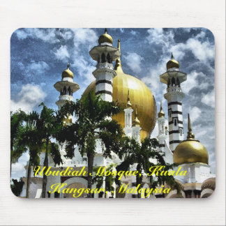 Ubudiah Mosque, Kuala Kangsar, Perak, Malaysia Mouse Pad