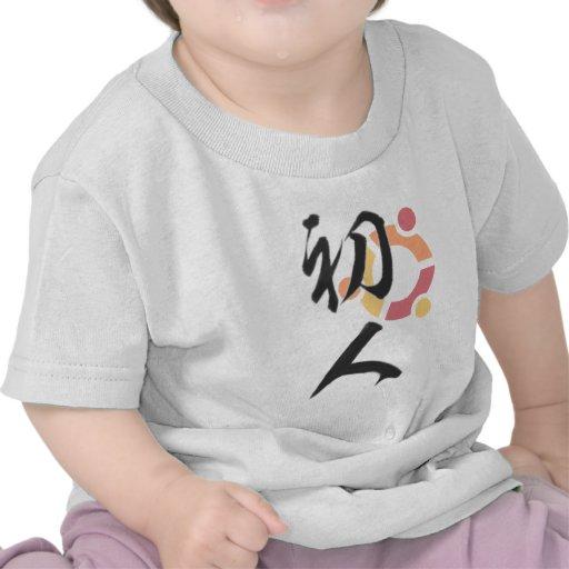 ubuntu初人 t-シャツ