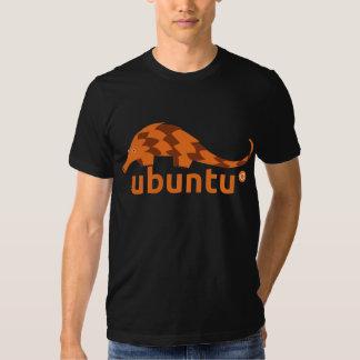 ubuntu 12.04 precise pangolin tee shirt