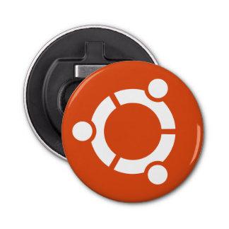Ubuntu Button Bottle Opener