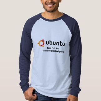 Ubuntu: Camisa de manga larga fácil, rápida, libre
