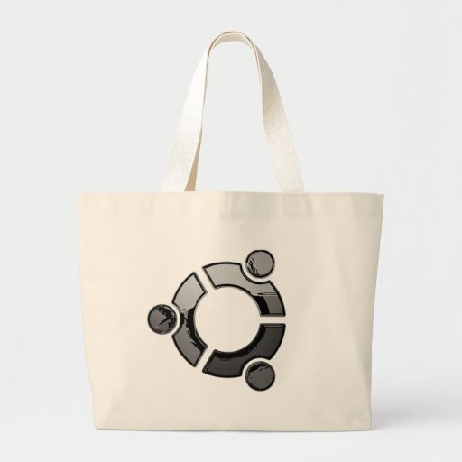 Ubuntu (cromo) bolsa de mano