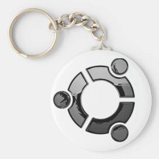 Ubuntu (cromo) llaveros personalizados