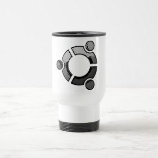 Ubuntu (cromo) taza de café
