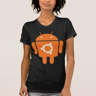 Ubuntu Droid Linux Tshirt Code ubuntudroid