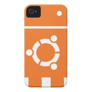Ubuntu Droid Linux Tshirt Code ubuntudroid Case-Mate iPhone 4 Cases