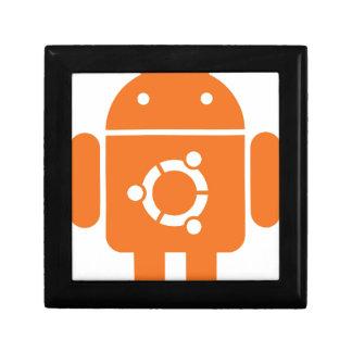 Ubuntu Droid Linux Tshirt Code ubuntudroid Jewelry Boxes