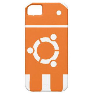 Ubuntu Droid Linux Tshirt Code ubuntudroid iPhone SE/5/5s Case