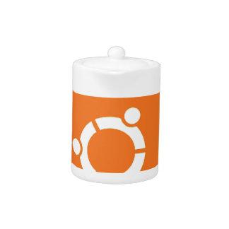 Ubuntu Droid Linux Tshirt Code ubuntudroid Teapot