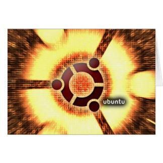 Ubuntu Greeting Card