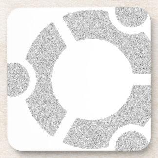 Ubuntu Hard Linux Tshirt Beverage Coaster