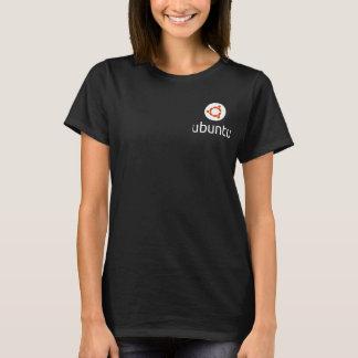 Ubuntu Lady's T-shirts white logo