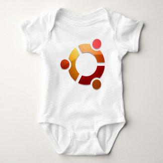 Ubuntu Linux Circle of Friends Logo Baby Bodysuit