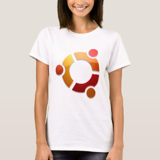 Ubuntu Linux Circle of Friends Logo T-Shirt