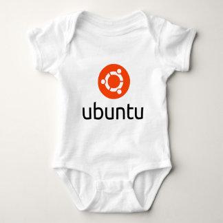 Ubuntu Linux Logo Baby Bodysuit