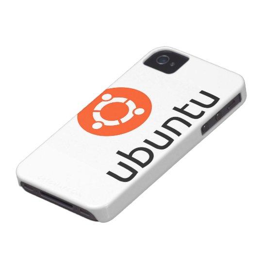 Ubuntu Linux Logo Case-Mate iPhone 4 Case