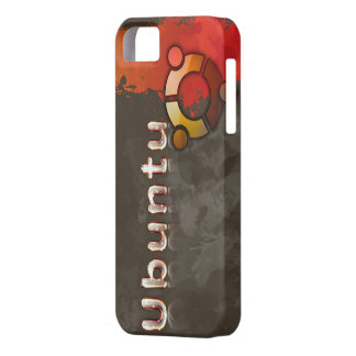 Ubuntu Linux Logo & Circle of Friends iPhone SE/5/5s Case