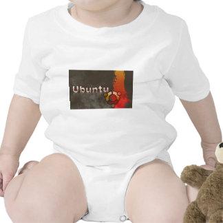 Ubuntu Linux Logo & Circle of Friends Bodysuit