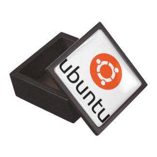 Ubuntu Linux Logo Gift Box