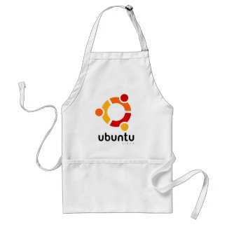 Ubuntu Linux Open Source Adult Apron