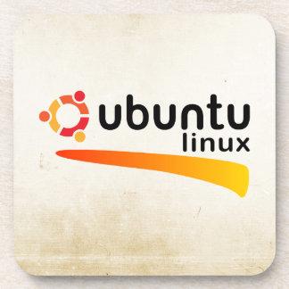 Ubuntu Linux Open Source Beverage Coaster