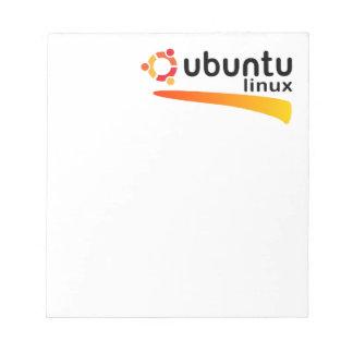 Ubuntu Linux Open Source Bloc De Notas