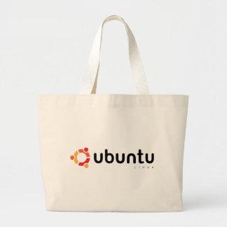 Ubuntu Linux Open Source Bolsa Tela Grande