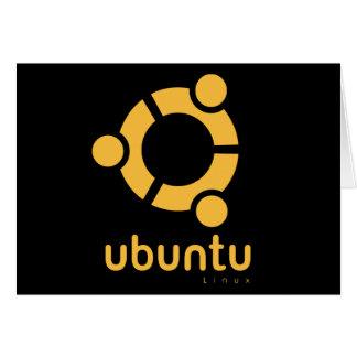 Ubuntu Linux Open Source Greeting Card