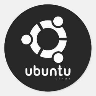 Ubuntu Linux Open Source Classic Round Sticker