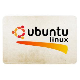 Ubuntu Linux Open Source Imán Foto Rectangular