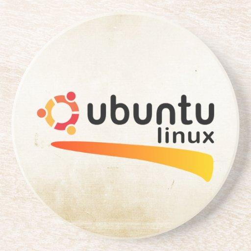 Ubuntu Linux Open Source Posavasos Personalizados